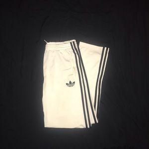 White original track pants